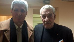 Paolo Conte e Giampiero Pani